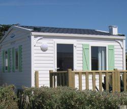 La Falaise Campsite: Mobile Home 16m2