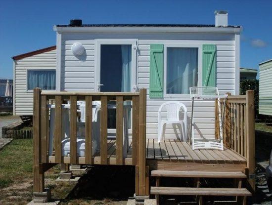 Camping De La Falaise : Mobil Home 16m2 Vue Mer