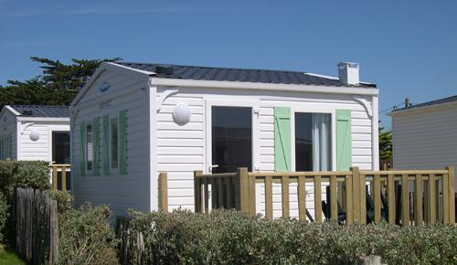 Campingplatz De La Falaise: Mobilheim 16 m²