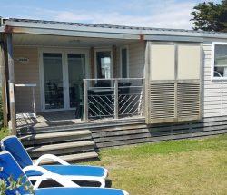 La Falaise Campsite: La Falaise 109 Porch