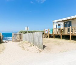 Campingplatz De La Falaise: Strandzugang 2
