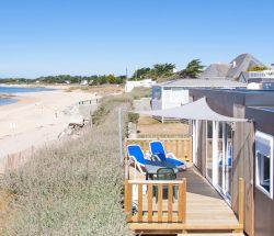 Camping la Falaise : Location sur mer