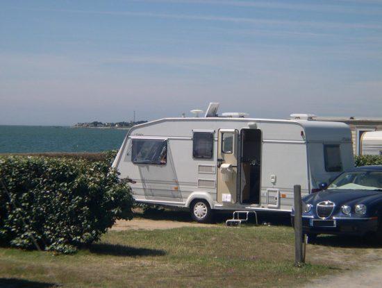 La Falaise Campsite: Camper