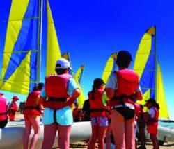 La Falaise Campsite: Sailing School 2