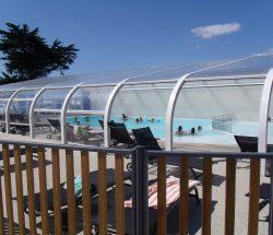 La Falaise Campsite: Indoor Pool