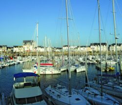 La Falaise Campsite: Port