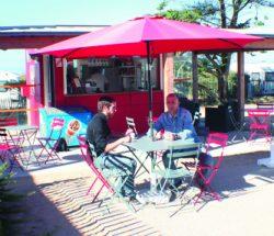 La Falaise Campsite: Snack Bar 2014