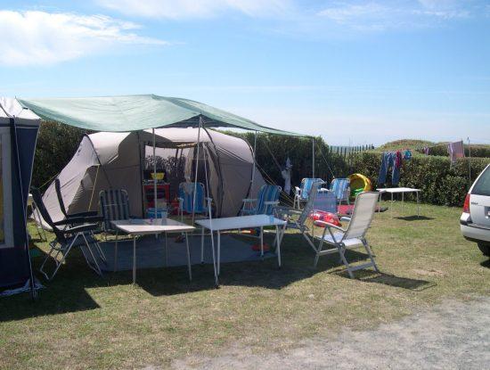 La Falaise Campsite: Tents